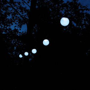 Everbright Solar Party Lights - 16 White Balls