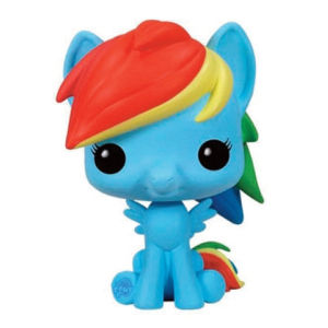 Figurine Pop! Vinyl My Little Pony Rainbow Dash