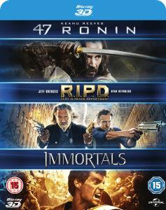 47 Ronin 3D / RIPD 3D / Immortals 3D