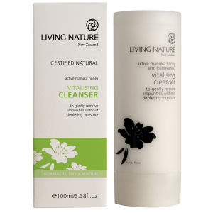 Living Nature Vitaliserende Rensekrem 100ml