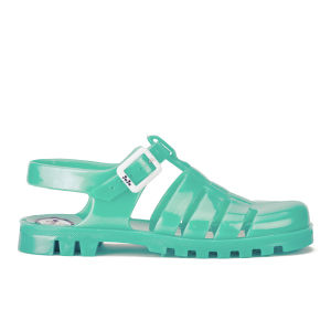JuJu Women's Maxi Jelly Sandals - Pearl Aqua