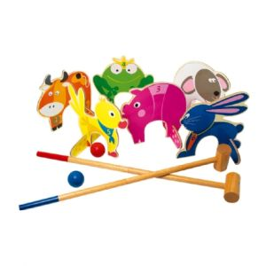 Animal Croquet Set