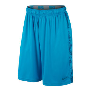 Nike Men's Fly Digital Rain Embossed Shorts - Vivid Blue