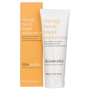 Crema de manosthis works Energy Bank™ Hand Makeover