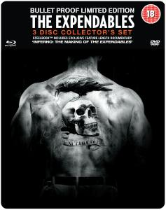 The Expendables: Verzamelaarseditie Steel Tin (Bevat Blu-Ray en DVD Copy)