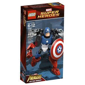 LEGO Super Heroes Ultrabuild: Captain America (4597)
