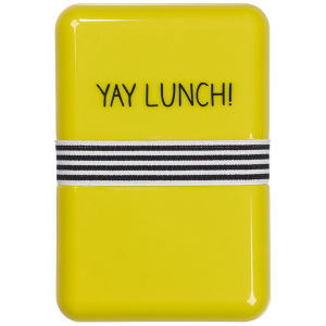 Lunch Box Jaune -Happy Jackson