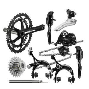 Campagnolo Veloce 2x10 Compact Groupset - 50/34