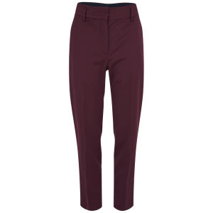 Wood Wood Women's Ruby Colour Block Trousers - Red/Navy Mix