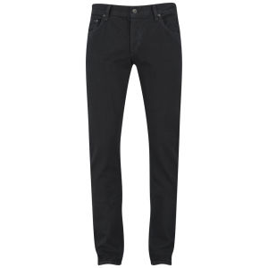 rag & bone Men's Standard Issue Fit 2 Low Rise Slim Fit Jeans - Black Coated Denim
