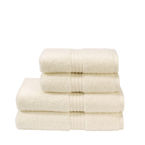 Christy Plush Towel - Cream