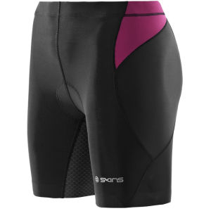 Skins Women's Rti400 Shorts - Black/Orchid