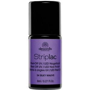 Striplac Silky Mauve UV Nail Polish (8ml)