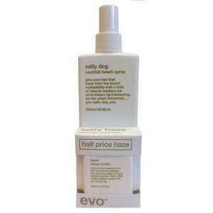 Evo Salty Haze Duo Salt Spray 200ml and Haze Styling Powder 50ml (Worth £28.50)