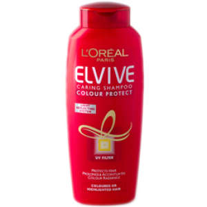 L'Oreal Paris Elvive Colour Protect Caring Shampoo - Coloured Hair (250ml)