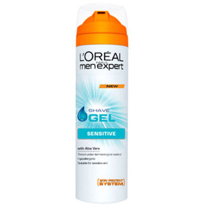 L'Oreal Paris Men Expert Shave Gel - Sensitive (200ml)