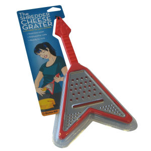 Guitar Shredder Grater - Red