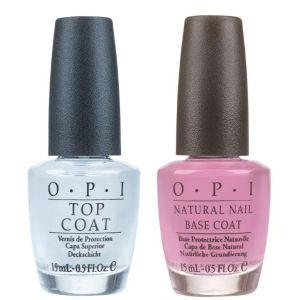 OPI Duo Base Coat & Top Coat - Value Pack