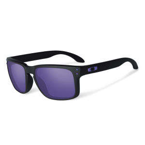 Oakley Men's Holbrook Matte Iridium Julian Wilson Sunglasses - Black