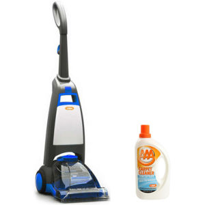 VAX Rapide Spring Clean Carpet - Blue with VAX Carpet Cleaning Solution (750ml)