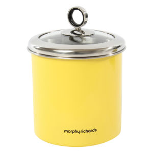 Morphy Richards Accents Large Storage Canister - Yellow