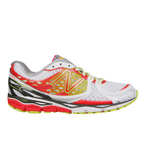 New Balance Women's W1080 v3 Neutral Running Trainer - White/Pink