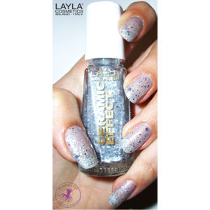 Layla Cosmetics Ceramic Effect Nail Polish N.51 Dancing With The Stars (10ml)