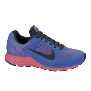 Nike Men's Zoom Structure + 17 Running Shoes - Cobalt Blue/Pink