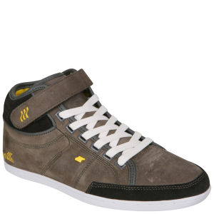 Boxfresh Women's Swich Mid Cut Boots - Grey/Yellow