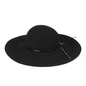French Connection Ziggy Floppy Hat - Black