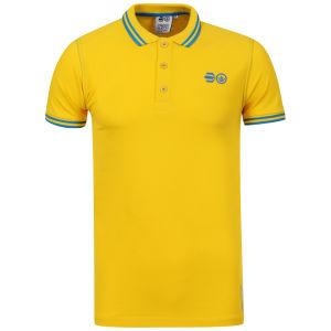 Crosshatch Men's Gladstone Polo Shirt - Freesia