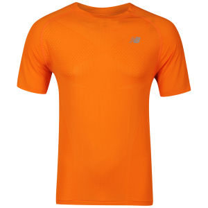 New Balance Nbx Minimus Short Sleeve T-Shirt - Orange