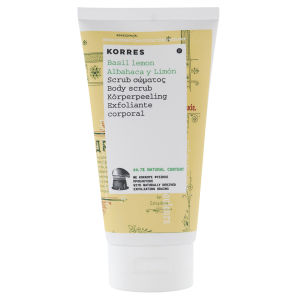 Korres Basil Lemon Body Scrub (150ml)
