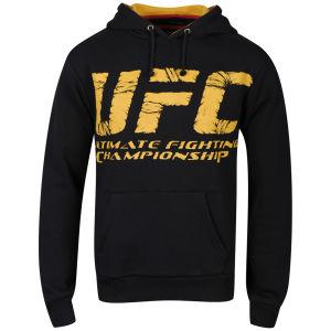 UFC Men's Wrap Hoody - Black/Yellow