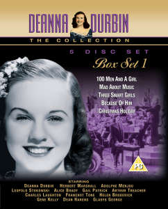 Deanna Durbin Collection - Box Set One