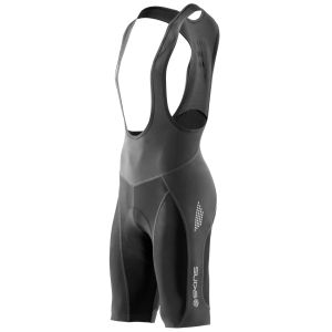 Skins C400 Men's Compression Bib Shorts - Black/Grey