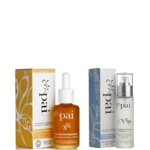 Pai 玫瑰果护肤油和水稻爽肤水