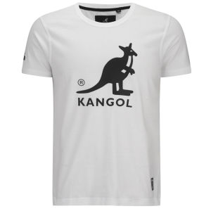 Kangol Men's Bando Printed T-Shirt - White