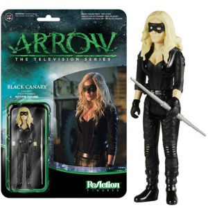 ReAction DC Comics Arrow Black Canary 3 3/4 Inch Action Figure