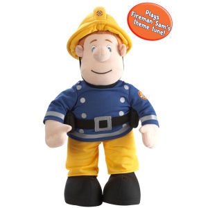 Fireman Sam - 12 Inch Talking Fireman Sam