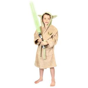 Star Wars Yoda Kids Fleece Bathrobe - Large