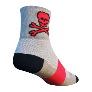 SockGuy Skull / Wrench Cycling Socks