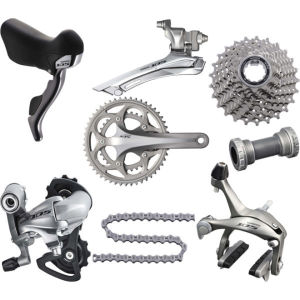Shimano 105 5750 Compact Bicycle Groupset in a Box