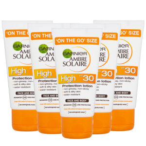 Garnier Ambre Solaire On The Go SPF 30 50ml x 5