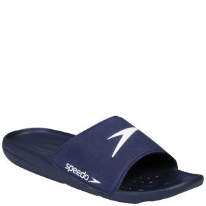 Speedo Men's Core Slide Shoes - Navy/White