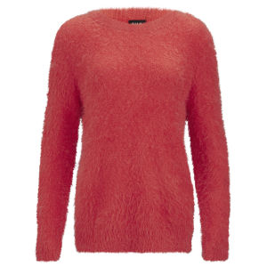 VILA Women's Viper Knitted Jumper - Red