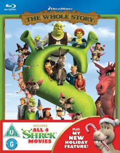 Shrek: The Whole Story - 1-4 Box Set