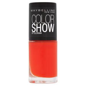 Maybelline New York Color Show Nail Lacquer - 341 Orange Attack 7ml