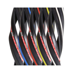 2013 Vittoria Open Corsa CX Clincher Road Tyre Black/Yellow 700c x 23mm + FREE Inner Tube
