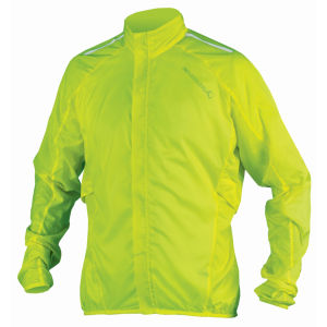 Endura Pakajak Jacket - Hi Vis Yellow